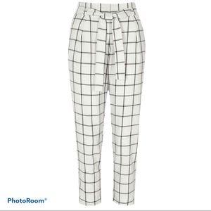ASOS 10 paper bag waist trousers pants